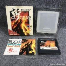 Videojuegos y Consolas: ZAN GEAR JAP SEGA GAME GEAR. Lote 293247383