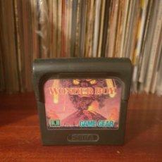 Videojuegos y Consolas: WONDER BOY / GAME GEAR. Lote 293844698