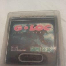 Videojuegos y Consolas: G LOC. GAME GEAR. Lote 294018538