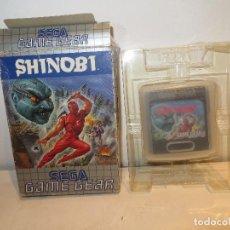 Videojuegos y Consolas: JUEGO SHINOBI GAME GAR EN CAJA,BARATO,VER DESCRIPCION. Lote 294040553