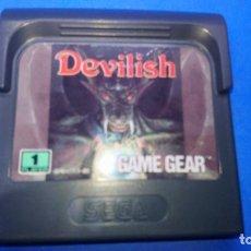 Videojuegos y Consolas: DEVILISH - GAMEGEAR SEGA. Lote 294490253