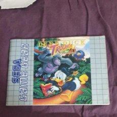 Videojuegos y Consolas: DEEP DUCK TROUBLE / GAMEGEAR. Lote 294507088