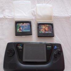 Videojuegos y Consolas: SEGA GAME GEER Y 2 JUEGOS, PARA REPARAR. VER FOTOS Y DESCRIPCIÓN!. Lote 296613823