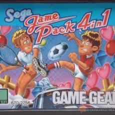 Videojuegos y Consolas: CARTUCHO MULTIJUEGOS 4 EN 1 - SEGA GAME GEAR - . Lote 24469829