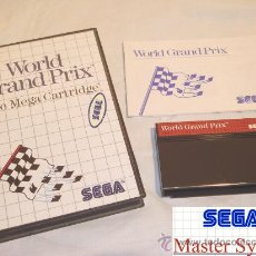 Videojuegos y Consolas: SEGA MASTER SYSTEM WORLD GRAND PRIX F1 1986 CLASICOOOOO. Lote 11542994