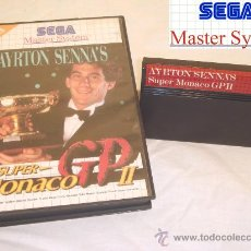 Videojuegos y Consolas: SEGA MASTER SYSTEM SUPER MONACO GP 2, AIRTON SENNA 1992. Lote 11543021