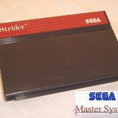 Videojuegos y Consolas: SEGA MASTER SYSTEM STRIDER 1 1990 BARATO CLASICO 80S. Lote 11543025