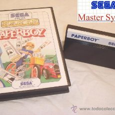 Videojuegos y Consolas: SEGA MASTER SYSTEM PAPERBOY ACCIÓN 1990 CLASICO EN CAJA. Lote 11543042