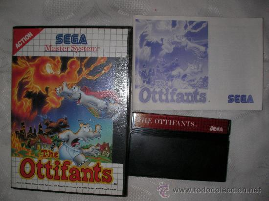 JUEG MASTER SYSTEM THE OTTIFANTS (Juguetes - Videojuegos y Consolas - Sega - Master System)