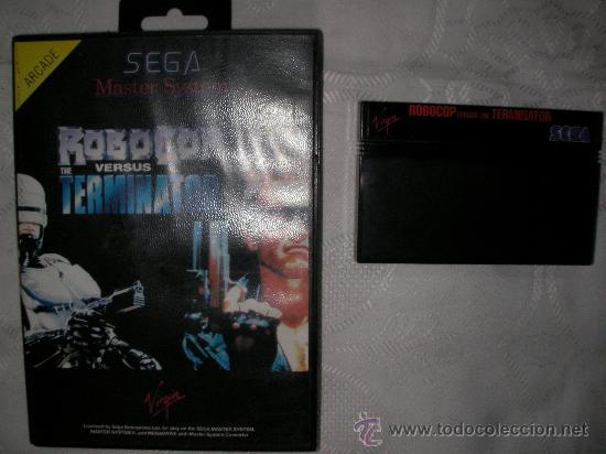 JUEGO MASTER SYSTEM ROBOCOP VERSUS TERMINATOR (Juguetes - Videojuegos y Consolas - Sega - Master System)