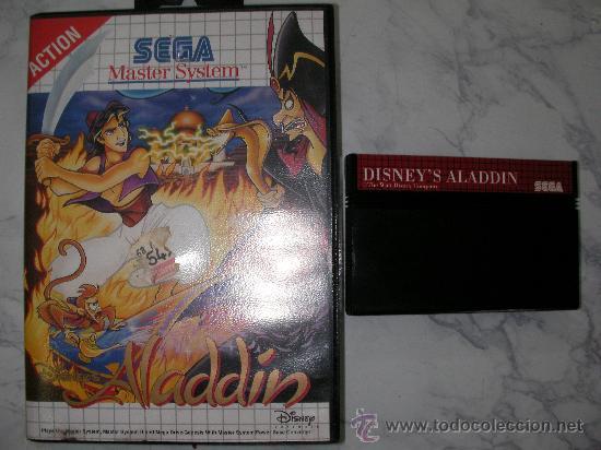 ANTIGUO JUEGO SEGA MASTER SYSTEM DISNEY´S ALADDIN (Juguetes - Videojuegos y Consolas - Sega - Master System)