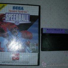 Videojuegos y Consolas: SEGA MASTER SYSTEM SPEEDBALL 2. Lote 23540023