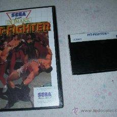 Videojuegos y Consolas: ANTIGUO JUEGO SEGA MASTERSYSTEM PIT-FIGHTER. Lote 23540065