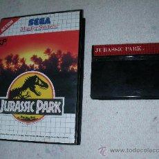 Videojuegos y Consolas: ANTIGUO JUEGO SEGA MASTERSYSTEM JURASSIC PARK. Lote 23540105
