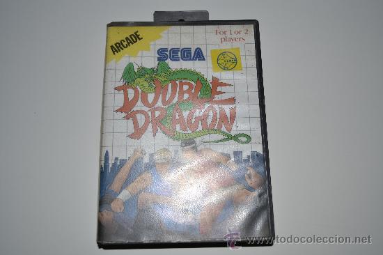 JUEGO DOUBLE DRAGON SEGA ARCADE 1988 CON MANUAL (Juguetes - Videojuegos y Consolas - Sega - Master System)