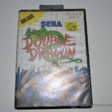 Videojuegos y Consolas: JUEGO DOUBLE DRAGON SEGA ARCADE 1988 CON MANUAL. Lote 26262114