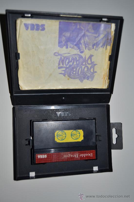 Videojuegos y Consolas: JUEGO DOUBLE DRAGON SEGA ARCADE 1988 CON MANUAL - Foto 3 - 26262114