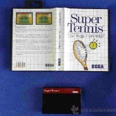 Videojuegos y Consolas: SUPER TENNIS SEGA MASTERSYSTEM PAL ESPAÑOL. Lote 27200188