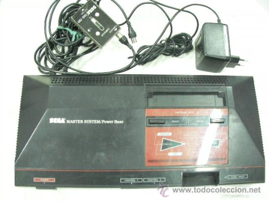 ANTIGUA CONSOLA SEGA MASTER SYSTEM POWER BASE (Juguetes - Videojuegos y Consolas - Sega - Master System)