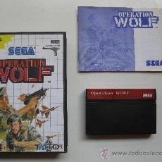 Videojuegos y Consolas: OPERATION WOLF - JUEGO PARA SEGA MASTER SYSTEM - CON INSTRUCCIONES.. Lote 28404106