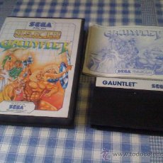 Videojuegos y Consolas: GAUNTLET SEGA MASTER SYSTEM SMS PAL JUEGO COMPLETO. Lote 30042389