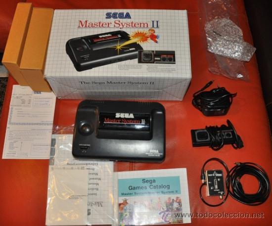 Sega Master System 2 Consola En Caja En Perfe Comprar Videojuegos