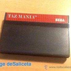 Videojuegos y Consolas: TAZ-MANIA TAZMANIA JUEGO PARA SEGA MASTER SYSTEM SMS PAL SÓLO CARTUCHO. Lote 35626363