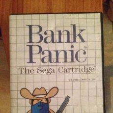 Videojuegos y Consolas: JUEGO SEGA MASTER SYSTEM-- BANK PANIC . Lote 37529688