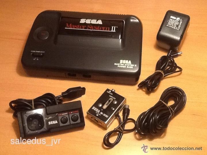 CONSOLA SEGA MASTER SYSTEM PAL COMPLETA EN BUEN ESTADO ACCESORIOS ORIGINALES Y VISIÓN UITRA-CLARA (Juguetes - Videojuegos y Consolas - Sega - Master System)