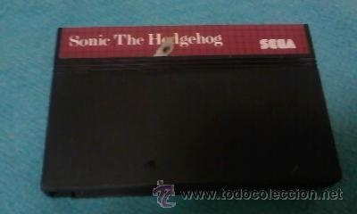 JUEGO SONIC THE HEDGEHOG,SEGA SYSTEM (Juguetes - Videojuegos y Consolas - Sega - Master System)