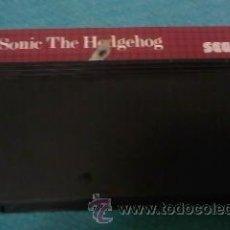 Videojuegos y Consolas: JUEGO SONIC THE HEDGEHOG,SEGA SYSTEM. Lote 57645184