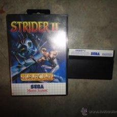 Videojuegos y Consolas: JUEGO ORIGINAL SEGA MASTER SYSTEM STRIDER II US GOLD 1992. Lote 41017533