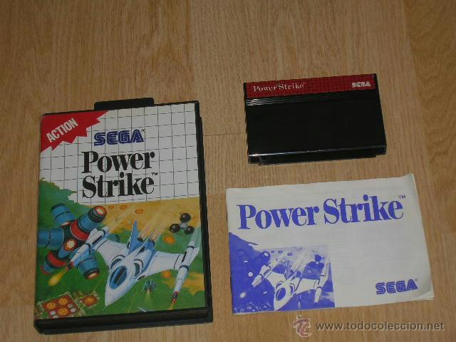 POWER STRIKE COMPLETO SEGA MASTER SYSTEM PAL ESPAÑA COMPILE (Juguetes - Videojuegos y Consolas - Sega - Master System)