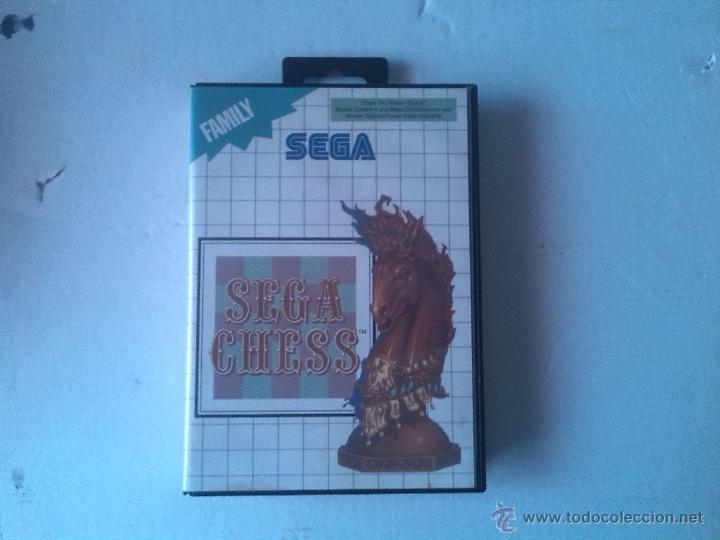 SEGA CHESS MASTER SYSTEM (Juguetes - Videojuegos y Consolas - Sega - Master System)
