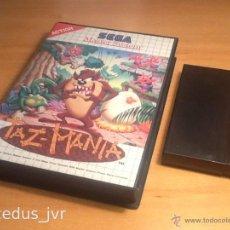 Videojuegos y Consolas: TAZ-MANIA JUEGO PARA SEGA MASTER SYSTEM CON CAJA. Lote 43887874