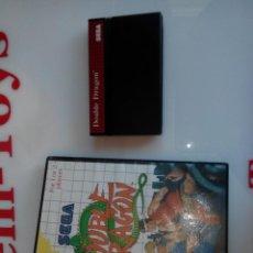 Videojuegos y Consolas: JUEGO PARA LA MASTER SYSTEM DOUBLE DRAGON. Lote 45236662