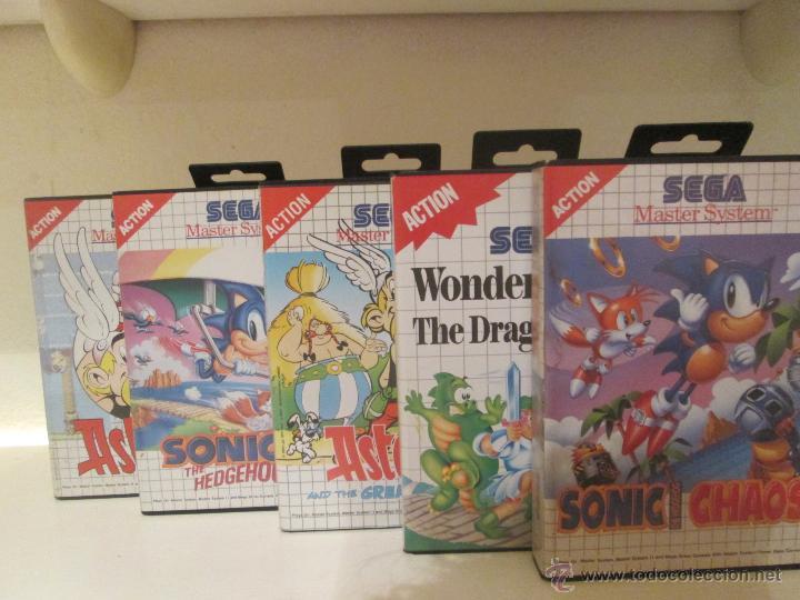 Lote De Juegos Sega Master System Asterix Aster Comprar