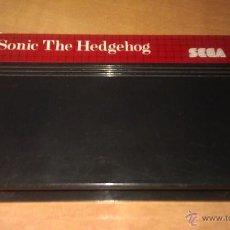 Videojuegos y Consolas: JUEGO SONIC THE HEDGEHOG PARA CONSOLA SEGA MASTER SYSTEM - SÓLO CARTUCHO -. Lote 275060878