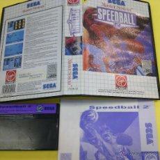 Videojuegos y Consolas: SEGA MASTER SYSTEM VIDEOJUEGO SPEEDBALL 2. Lote 46932559