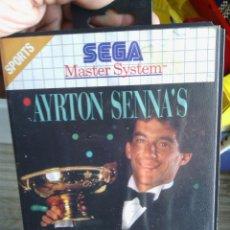 Videojuegos y Consolas: JUEGO MÁSTER SYSTEM AYRTON SENNA - SUPER MONACO GP II + CATÁLOGO JUEGOS MASTER SYSTEM INCLUIDO. Lote 47147368