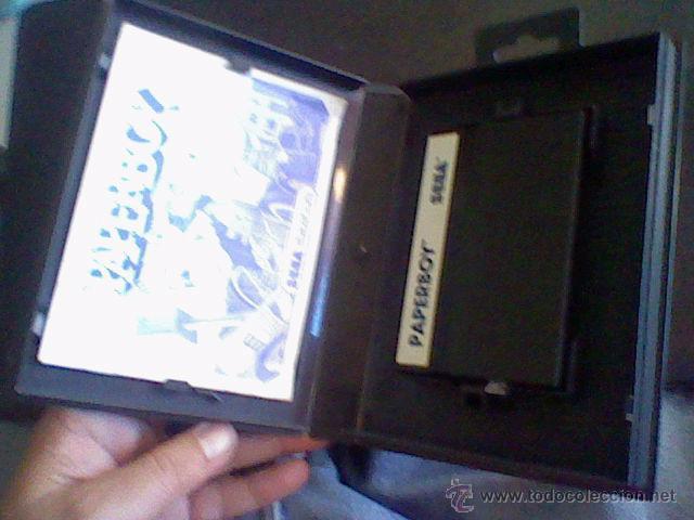 Videojuegos y Consolas: JUEGO MASTER SYSTEM MASTERSYSTEM PAPERBOY SIN PROBAR COMPLETO - Foto 2 - 49362726