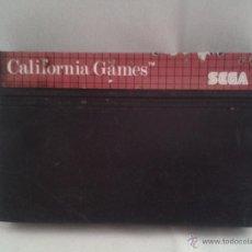 Videojuegos y Consolas: JUEGO SEGA MASTER SYSTEM CALIFORNIA GAMES PAL R1258. Lote 50612525