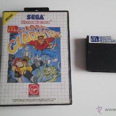 Videojuegos y Consolas: SEGA MASTER SYSTEM MC DONALD'S GLOBAL GLADIATOR PAL ESPAÑA. Lote 51671631