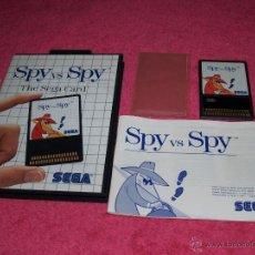 Jeux Vidéo et Consoles: SEGA MASTER SYSTEM SPY VS. SPY THE SEGA CARD COMPLETO EN MUY BUEN ESTADO. Lote 246657940