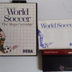 Videojuegos y Consolas: SEGA MASTER SYSTEM JUEGO WORLD SOCCER. Lote 52632539