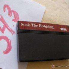 Videojuegos y Consolas: ANTIGUO JUEGO SEGA - SONIC THE HEDGEHOG. Lote 53118881