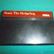 Videojuegos y Consolas: JUEGO MASTER SYSTEM SONIC THE HEDGEHOG. Lote 53239050