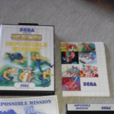 Videojuegos y Consolas: IMPOSSIBLE MISSION- US GOLD - SEGA FROM. Lote 53370484