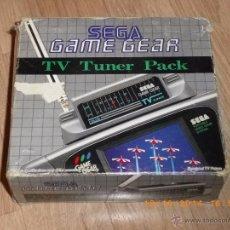 Videojuegos y Consolas: SEGA GAMEGEAR TV TUNER PACK. Lote 53488891