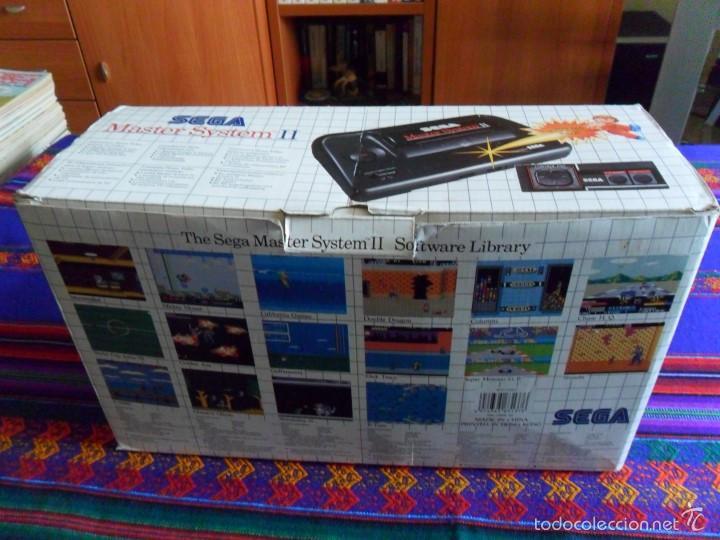 Videojuegos y Consolas: CONSOLA SEGA MASTER SYSTEM II ALEX KIDD EN CAJA COMPLETA CON 2 JOYSTICK DISTINTOS. MBE. - Foto 4 - 167946565